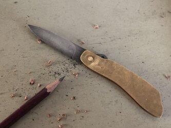 折りたたみナイフの画像