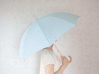 リネン日傘 水の画像