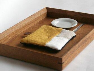Pot Mat [はちみつ]リネンの画像