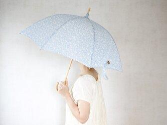 リネン日傘 勾玉の画像