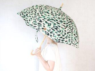 リネン日傘 水彩の画像