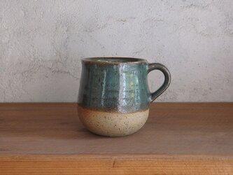石土コーヒーカップ・緑の画像