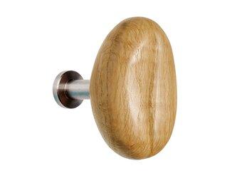 木製コートハンガー/1個/コーヒー豆型 HS-CS(Sサイズ) オーク リフォーム お家カフェ空間にの画像