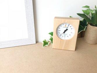 KATOMOKU 湿温度計1 ナチュラル km-101N エンペックス製使用の画像