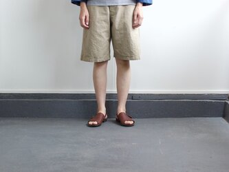 original cotton twill shortsの画像
