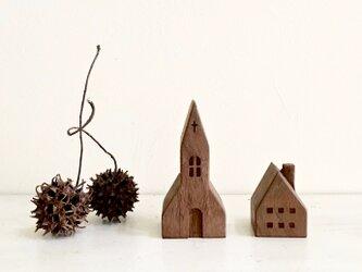 小さな木の家 ー教会55ーの画像