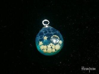 【送料無料】19n008 小さな海のネックレス ホムポムの画像