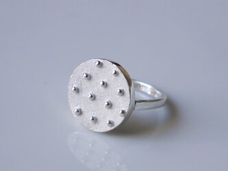 Dot ring(sv)★ドット★シルバー★リング★の画像