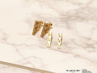 Diamond pattern pierce goldの画像