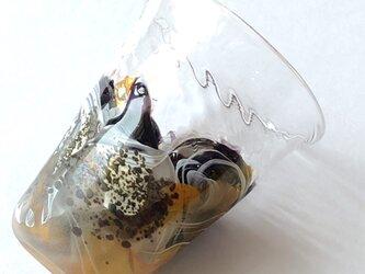 銀箔黄彩盃(ぎんぱくおうさいはい)/お猪口の画像