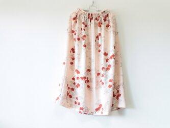☆淡ピンク シルク着物スカート☆/31ks36の画像