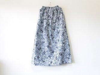 ☆浴衣ロングスカート☆アッツ桜♪/31ys49の画像