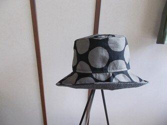 折りたためる&洗える帽子の画像