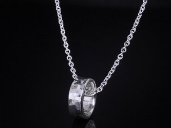 丸鎚目 ベビーリング 5mm幅 刻印無料 :ペンダント ネックレスの画像