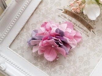 紫陽花のポニーフックの画像