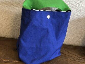 帆布ミニトートバッグ(縦型)の画像