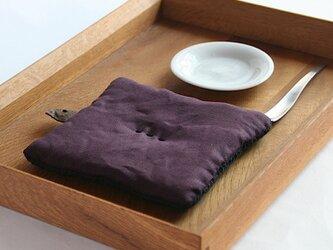 Pot Mat  [葡萄]リネンの画像