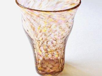 スクエア麦泡グラス/ビアグラス/タンブラーの画像