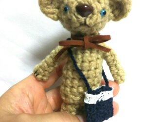 編みぐるみクマさんの画像