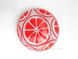 オレンジ/ペーパーウェイトの画像