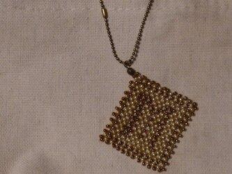 アルファベット ビーズ チャーム Mの画像