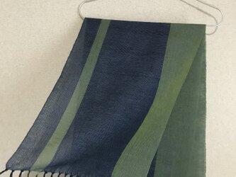 手織りストール SU1の画像