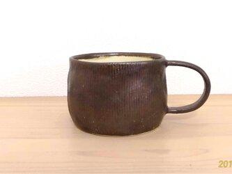 マンガン釉カップ②の画像