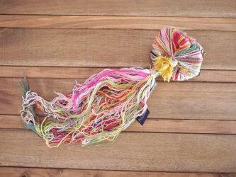 手織りのきのこ Sの画像