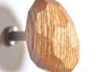 木製コートハンガー/1個/ショコラ HS-B45 オーク/チェリー/オールナット《フランスM.O.F.パティシエ絶賛!》の画像