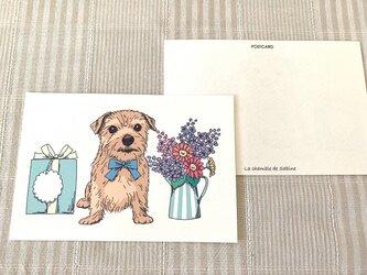 多目的に使えるかわいいポストカード*2枚組の画像