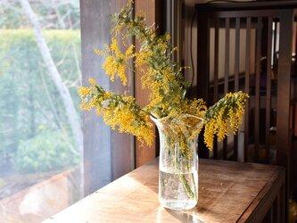 縦泡花瓶の画像