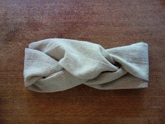 -- hairband -- ivory--の画像