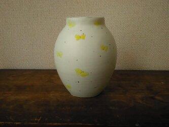 粉引き 花瓶の画像