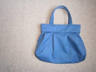 水色のふんわりバッグ♪の画像