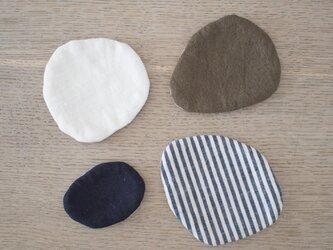 リネンコースター stone + miniの画像