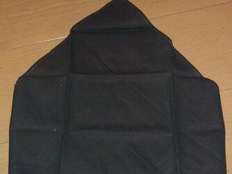 ハンドメイド 大人用三角巾 茶色無地の画像