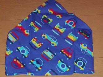 ハンドメイド 子供用三角巾 車柄 の画像