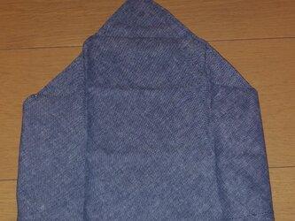 ハンドメイド 子供用三角巾 シャンブレー生地 の画像