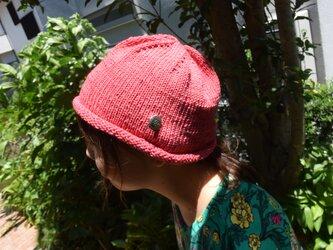 コットンウール帽子1の画像
