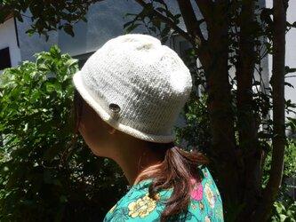 コットンウール帽子3の画像