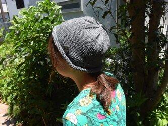 コットンウール帽子4の画像