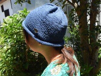 コットンウール帽子6の画像