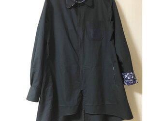 1点限定品!ブラック◆ファスナーシャツ 〈fastener shirt〉の画像