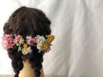 ウェディングヘアパーツの画像