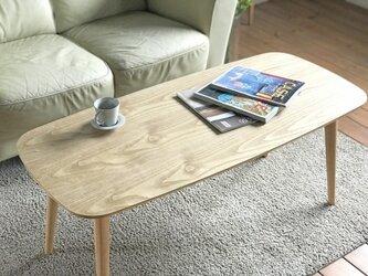 【自分だけの選べるテーブル】チェスナットテーブル120cmの画像