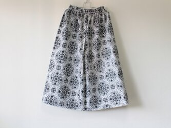 ☆浴衣スカート☆モノクロ♪/31ys51の画像