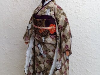 バービーファッショニスタ(カービー)着物 鶴舞の画像