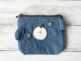 新作▽  denim bare mini porchの画像