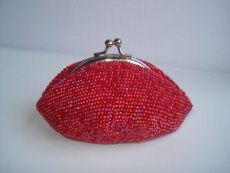 【再販】Beaded Purse --Berry Berry--の画像