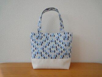 ミニトートバッグ*ブルーの画像
